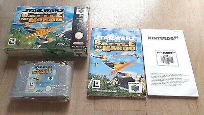 Star Wars Episode I Battle for Naboo 1 Nintendo 64 N64 - Complet - PAL EUR - TBE