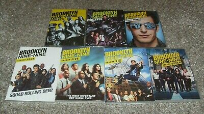 Brooklyn Nine-Nine Complete Series Seasons 1-7 (DVD, 21-Disc Set) Free shipping