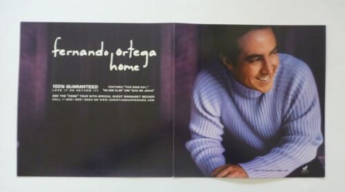 Fernando Ortega Home LP Record Photo Flat 12x24 Poster