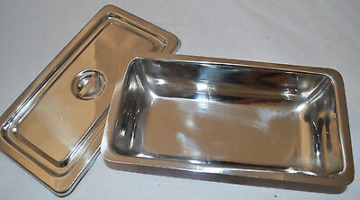 Lot Of 5 Dentaltattoo Sterilization Tray With Lid
