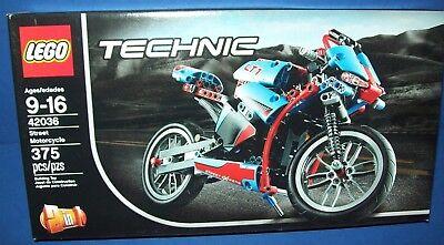Lego 42036 Technic Street Motorcycle   Retired New Nisb Ages 9 16 Bike