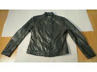 AFFLICTION Womens Hoodie Sweatshirt ZIP UP Jacket MICHELLE Biker RHINESTONES $74