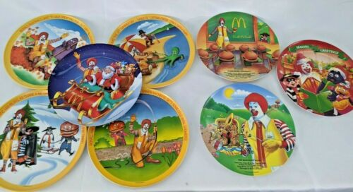 Lot of 8 - (5)1977 (2)1989( 1) 1995Ronald McDonald