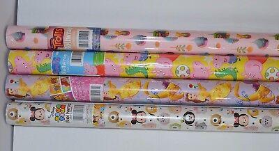 Christmas Birthdays other Celebrations Peppa Pig,Disney Princesses,Trolls,Disney](Peppa Pig Wrapping Paper)