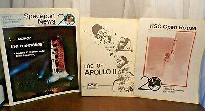 3 NASA Spaceport News July 16,- 1989 KSC Open House, - Log of Apollo 11 1979