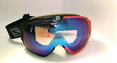 acbad09d4f6 Salomon XMax Ski Snowboard Goggles Photocromatic Lens Extra Lens