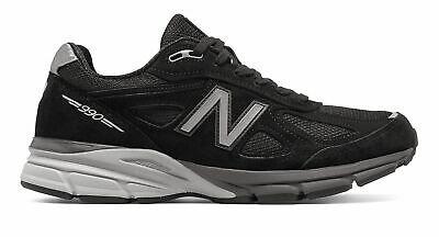 New Balance Men's Made in US 990v4 Shoes Black