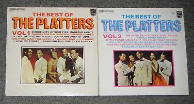 Job Lot The Platters Vinyl LP Records