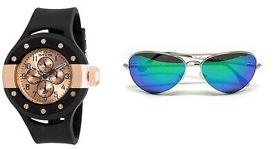 Invicta S1 Rally - Men's 52 mm Watch + Aviator VFR Unisex Sunglasses - LOT