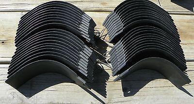 21 Each John Deere Tiller Tines Pt8446 Pt8447 Full Set Model 670