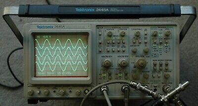 Tektronix 2445a 150 Mhz Oscilloscope B012362 Calibrated Works Great