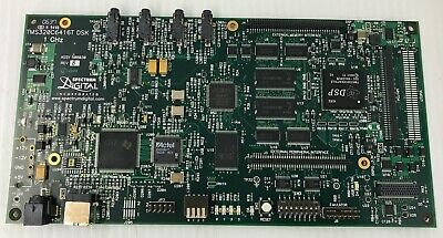 Spectrum Digital Tms320c6416t Dsk 1ghz Pwb 508031 Revb Pcb Card