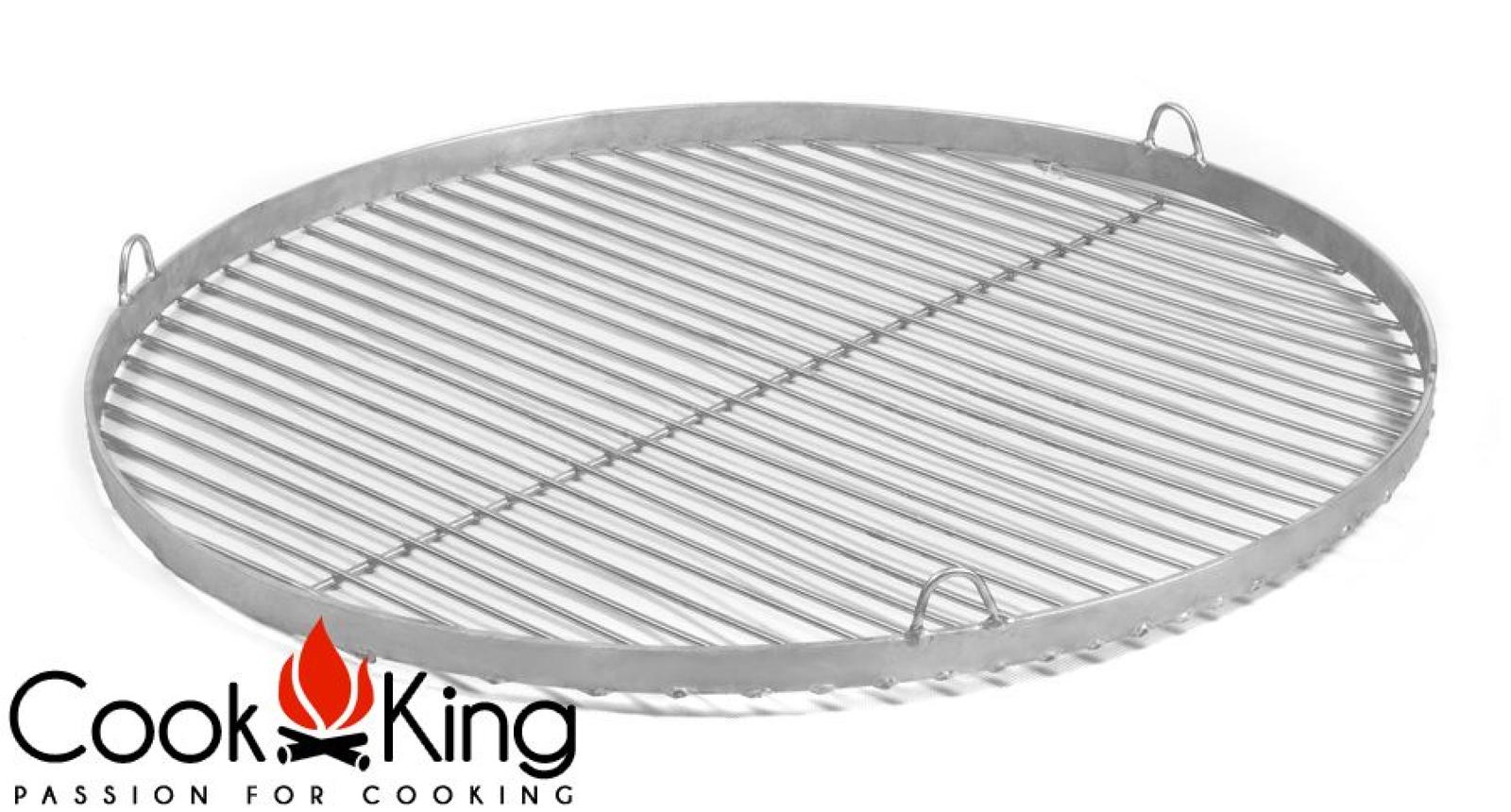 Edelstahl Grillrost rund Durchmesser 50 60 70 oder 80 cm Rost für Schwenkgrill