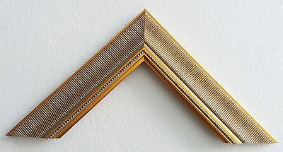 Bilderrahmen Goldrahmen 40x60cm Einrahmung Bilderleiste Klassischer Rahmen