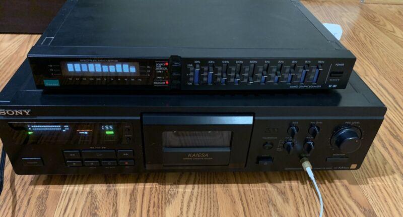 Sansui equalizer SE-M1 Spectrum Analyzer