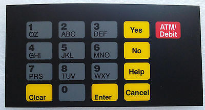 Gilbarco T50064-1010 Advantage Crind Keypad Overlay Unocal