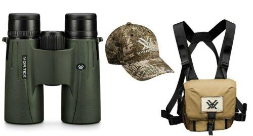 Vortex Optics Viper HD 10x42 Binocular w/ Vortex Harness Case and Free VX Hat
