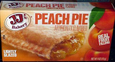 Jjs Bakery Lightly Glazed Snack Pies 4Oz  3   Peach  Remember Hostess