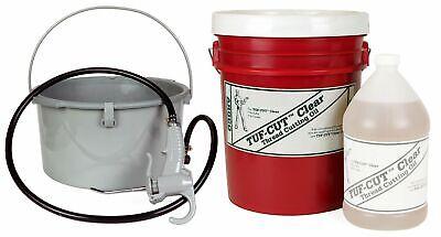 Toledo Pipe 418 Oiler 10883 5 Gallon Tuf-cut Clear Oil Fits Ridgid 300 700 12r