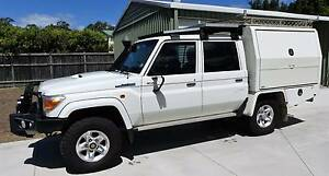2012 Toyota LandCruiser Dual Cab with Integrated Camp Canopy Dundowran Fraser Coast Preview