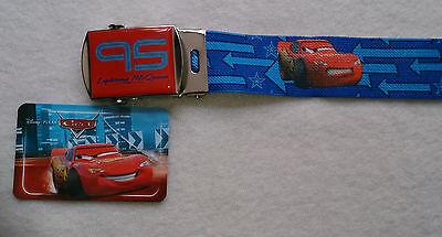 Kinder-Gürtel Disney/Pixar Cars Blau Gürtel Polyester elastisch Metall-Schnalle