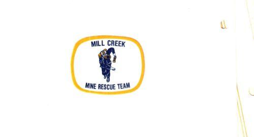 NICE MILL CREEK MINE RESCUE COAL MINING STICKER # 2