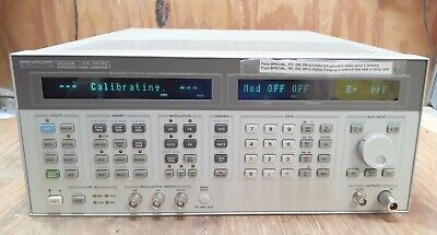 Hp 8643a Synthesized Signal Generator 0.26-2060mhz Opt 001