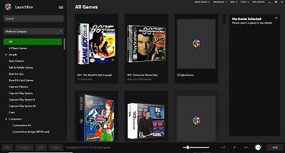 1TB Launchbox Retroarch Emulator Plug and Play Hard Drive for Retro Games