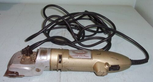 Sunbeam Clipmaster Deluxe Variable Speed Control Livestock Clippers Model EW 610