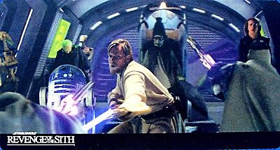 STAR WARS, REVENGE OF THE SITH, TOPPS 2015 WIDEVISION 3D, CARD # 7, TURNABOUT - Star Wars 7 Sith