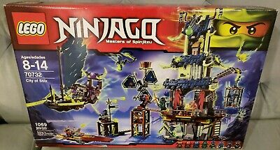 Instruction Manual Only LEGO Ninjago City of Stiix 70732