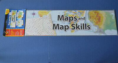 Maps & Map Skills Mini Billoard Set CREATIVE TEACHING PRESS New Home School Creative Teaching Maps