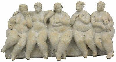 Dicke Frauen Skulptur Nana Rubens Modell Deko Garten Terrasse Balkon
