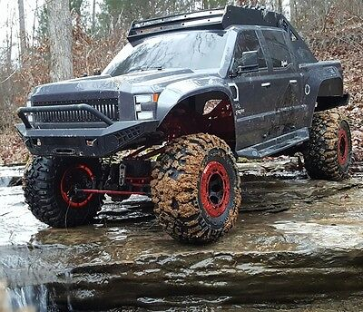 1 5 Clawback Electric Rc Monster Truck Rock Crawler 4Wd Off Road 2 4Ghz Grey