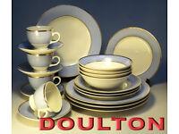 Royal Doulton Dinner Service Set c2004 Excellent Condition (WH_1137)