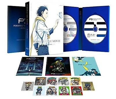 Persona 3 the Movie #3 Falling Down Limited Edition DVD CD Booklet Japan English