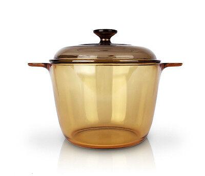 Visions 3.5L Pot Kitchen Cookware Saucepan Glass Cooking Pasta Pot