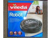 VILEDA Cleaning Robot Vacuum Cleaner Rechargeable Cordless Bagless Hair Dust Dog Pet Floor Carpets