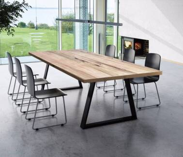 ARTISAN TIMBER DINING TABLE CUSTOM MADE ANY SIZE
