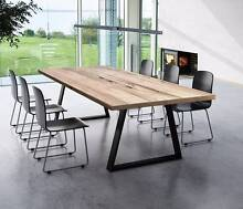 ARTISAN TIMBER DINING TABLE CUSTOM MADE ANY SIZE Sandringham Bayside Area Preview