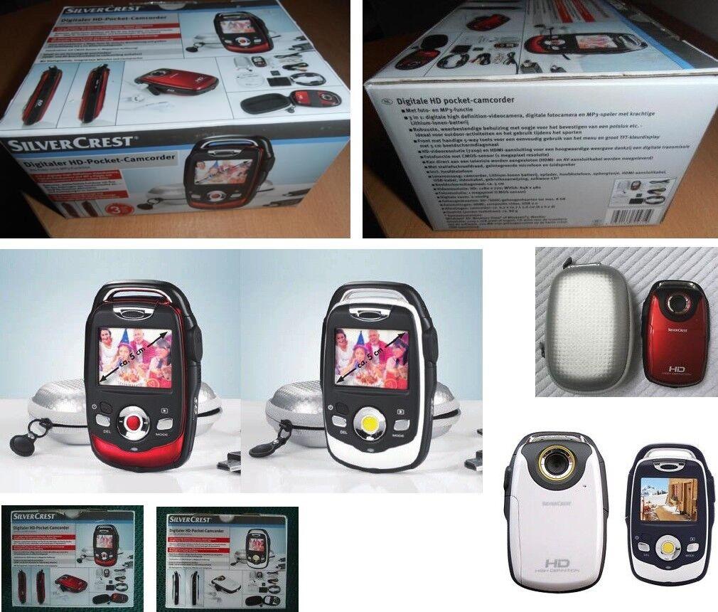 Camcorder Videokamera Fotokamera Digitaler HD-Pocket-Camcorder HDMI MP3, NEU OVP