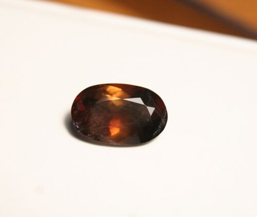 3.6ct BiColour Axinite - Rare Colour Change Gem Quality - Excellent Clarity