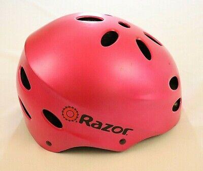 Razor V17 Youth Skateboard Helmet Pink Size M Medium Bike Bicycle Skateboarding
