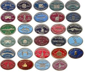Canal-barge-ware-quality-solid-brass-Lockmasters-bridge-plaques-7-99