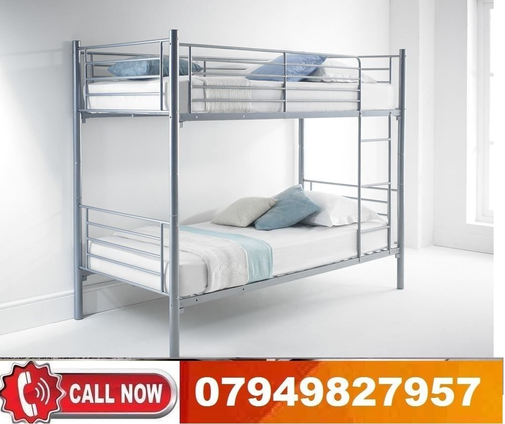 METAL Bunk Base available,Beddingin Barnet, LondonGumtree - We are the best furniture Provider in whole United Kingdom .^. Contact Us to Believe Us.^. We deal in all type of leather and Dlvan Bedding, We also deal in diferent type of sofas , wardobes and Dining sets