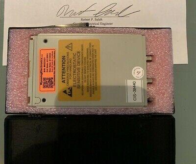 Tektronix 80e04 Sampling Module Calibrated Till 6-23 For Csa8000tds8000 Dsa8300
