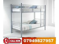 Metal Bunk Bed Available With Different Choices for Mattress Selection TAYA