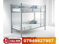 Metal Bunk -- Base-- available, Bedding