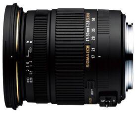 Sigma 17-50 F2.8 Nikon Mount