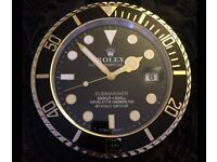 Rolex Dealer Wall Clock - Never Used